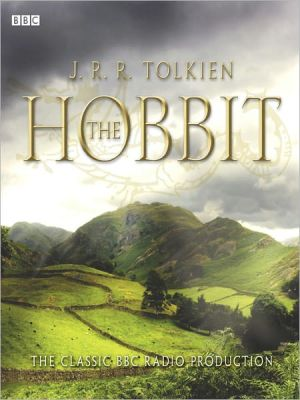 The Hobbit book written by J. R. R. Tolkien