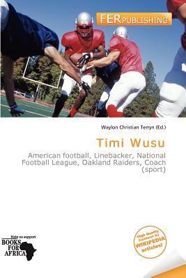 Timi Wusu written by Waylon Christian Terryn