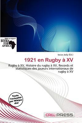 1921 En Rugby XV written by Iosias Jody
