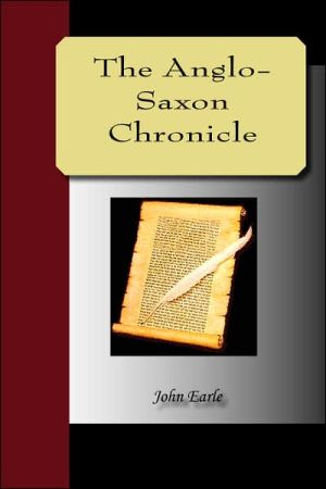 AngloSaxon Chronicle book written by Anonymous