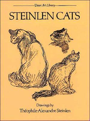 Steinlen Cats book written by Theophile-Alexandre Steinlen