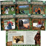 Outdoor Adventure!-6 Titles: Archery/Boating/Camping/Fishing/Hiking/Hunting book written by Adam G. Klein