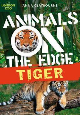 Tiger book written by Anna Claybourne