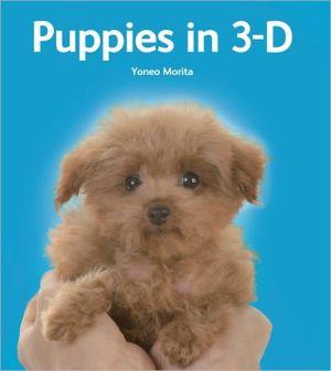 Puppies in 3-D book written by Yoneo Morita