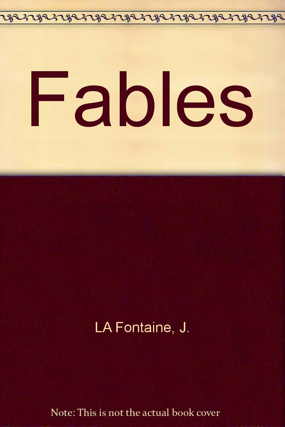 Fables written by Jean de La Fontaine