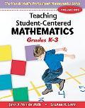 Teaching Student-Centered Mathematics, Volume I: Grades K-3 with eBook DVD written by John A. Van De Walle, Lou Ann H. Lovin