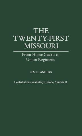 The Twenty-first Missouri book written by Leslie Anders
