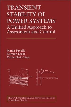 Transient Stability of Power Systems book written by Mania Pavella