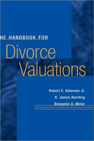 Divorce Valuations book written by Kleeman