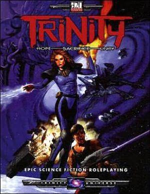 d20 Trinity book written by Sword & Sorcery