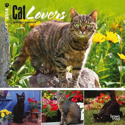 Cat Lovers 2014 18-Month Calendar book written by Browntrout Publishers