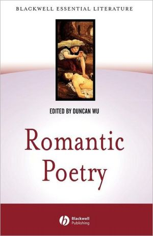 Romantic Poetry book written by Duncan Wu