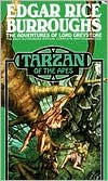 Tarzan of the Apes book written by Edgar Rice Burroughs