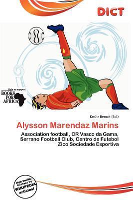 Alysson Marendaz Marins written by Kn Tr Benoit