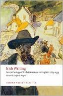 Irish Writing: An Anthology of Irish Literature in English 1789-1939 book written by Stephen Regan