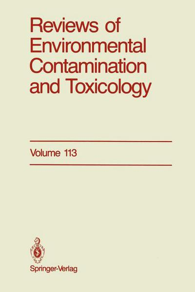 Reviews of Environmental Contamination and Toxicology written by