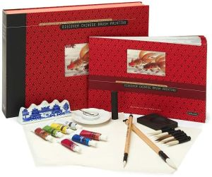 Discover Chinese Brush: A Deluxe Art Set For Aspiring Artists (Discover Series) written by Rebecca Yue