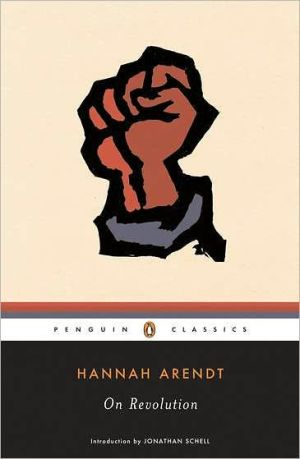 On Revolution book written by Hannah Arendt