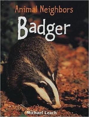 Badger book written by Michael Leach