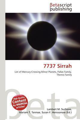 7737 Sirrah written by Lambert M. Surhone