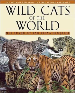 Wild Cats of the World book written by Fiona Sunquist