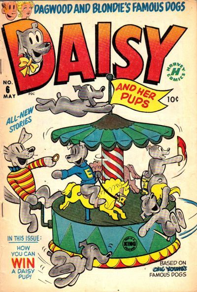Daisy and Her Pups A1 Comix Comic Book Database