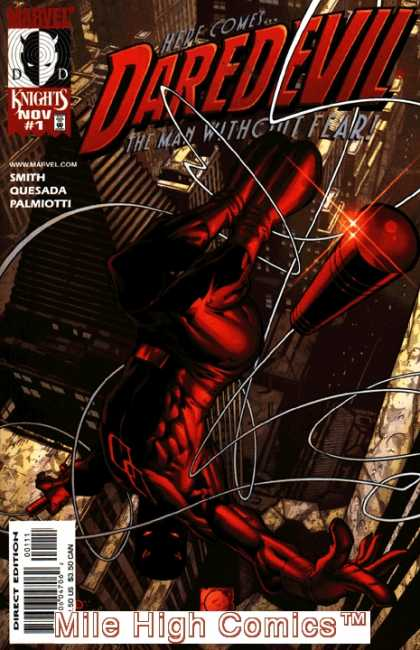 Daredevil 1998 Comic Book Back Issues by A1 Comix
