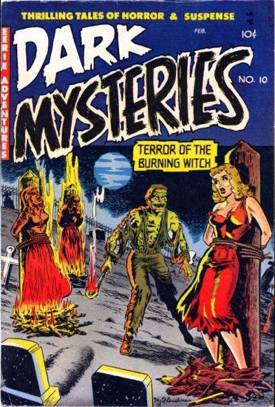 Dark Mysteries A1 Comix Comic Book Database