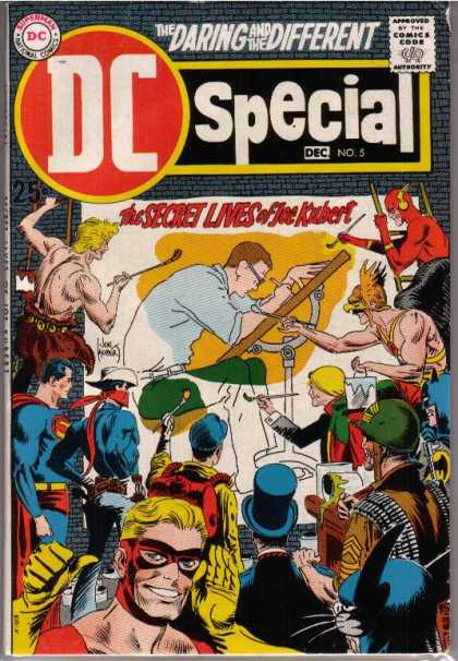 DC Special A1 Comix Comic Book Database