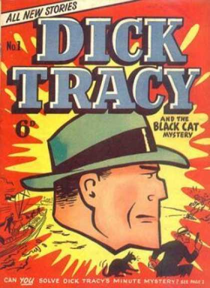 Dick Tracy Monthly Comic Book Back Issues by A1 Comix