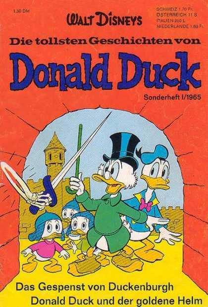 Die Tollsten Geschichten von Donald Duck Comic Book Back Issues by A1 Comix