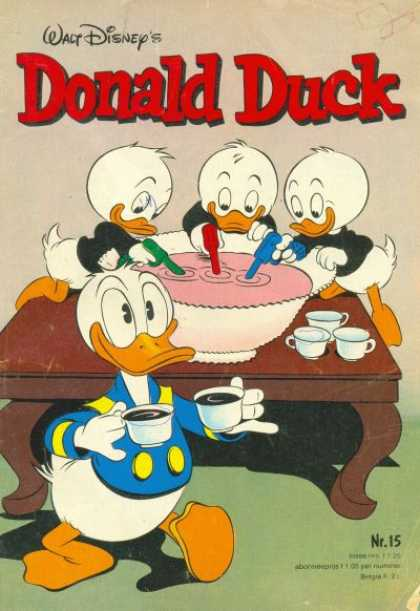Donald Duck Dutch A1 Comix Comic Book Database
