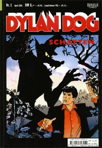 Dylan Dog Comic Book Back Issues by A1 Comix