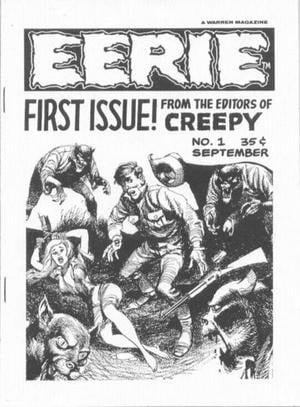 Eerie Comic Book Back Issues by A1 Comix