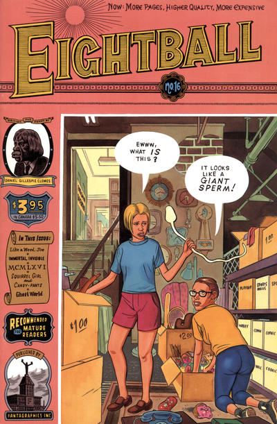 Eightball A1 Comix Comic Book Database