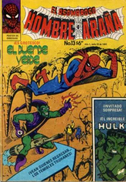 El Asombroso Hombre Arana A1 Comix Comic Book Database