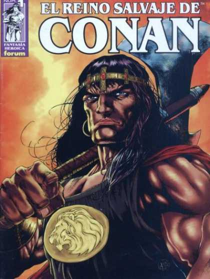 El Reino Salvaje de Conan Comic Book Back Issues by A1 Comix