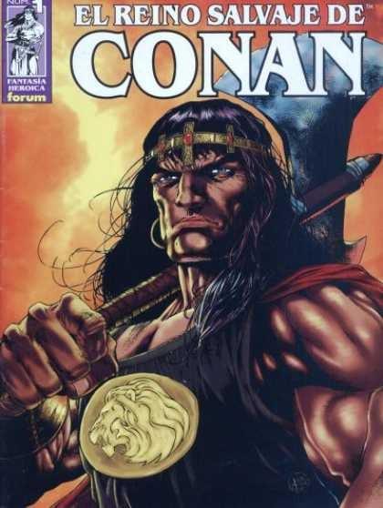 El Reino Salvaje de Conan Comic Book Back Issues by A1 Comix
