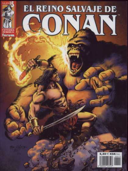 El Reino Salvaje de Conan A1 Comix Comic Book Database
