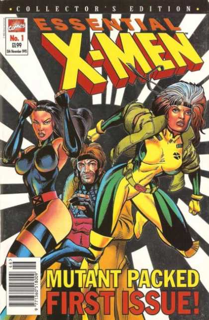 Essential X-Men Comic Book Back Issues by A1 Comix