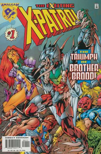 Exciting X-Patrol A1 Comix Comic Book Database