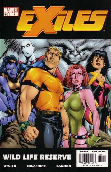 Exiles A1 Comix Comic Book Database