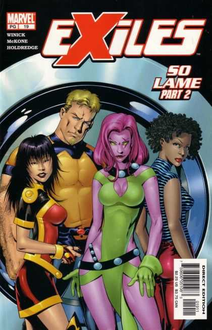 Exiles A1 Comix Comic Book Database