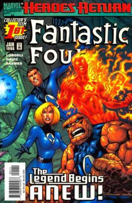 Fantastic Four Volume 3 Comic Book Back Issues by A1 Comix