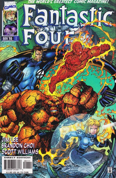 Fantastic Four Volume 2 Comic Book Back Issues of Superheroes by A1Comix