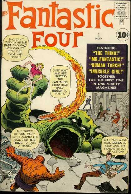 Fantastic Four Comic Book Back Issues by A1 Comix