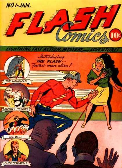 Flash Comics Comic Book Back Issues by A1 Comix