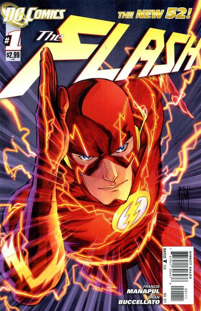 Flash New 52 Comic Book Back Issues by A1 Comix