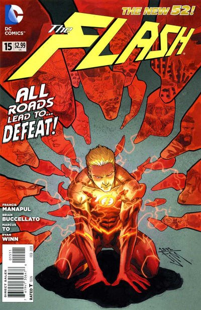 Flash New 52 A1 Comix Comic Book Database