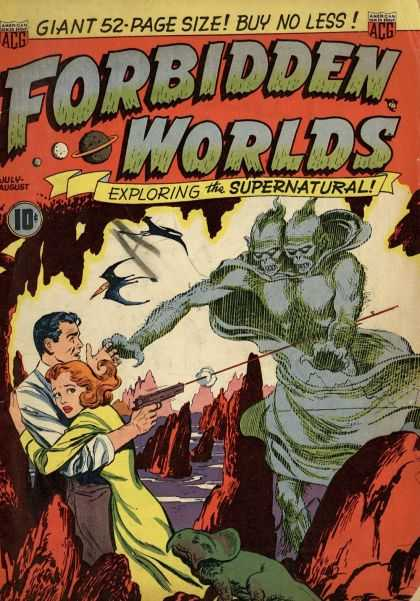 Forbidden Worlds Comic Book Back Issues by A1 Comix